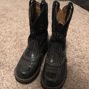 Ariat FatBaby cowboy boots shoes size 6.5B